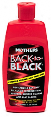 Mothers Again To Black Trim Restorer