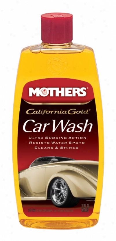 Mothers California Gold Car Wash (16 O2.)