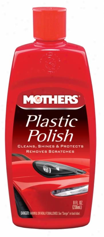 Mothers Plastic Polish (8 Oz.)