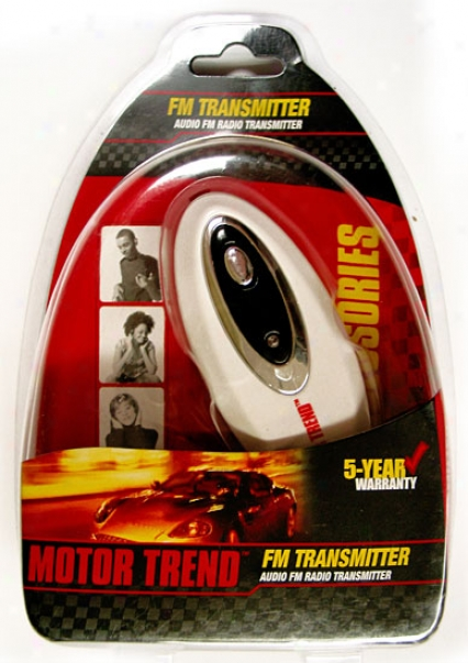 Motor Trend Fm Radio Transmitter