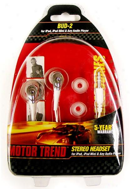 Motor Trend Ipod Stereo Ear-bud Headset