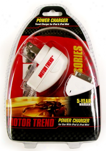 Motor Trend Ipod Travel Charger