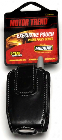 Motor Trend Medium Executive Phone Pouch