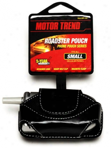 Motor Trend Small Roadster Pouch Cell Phone Pouch