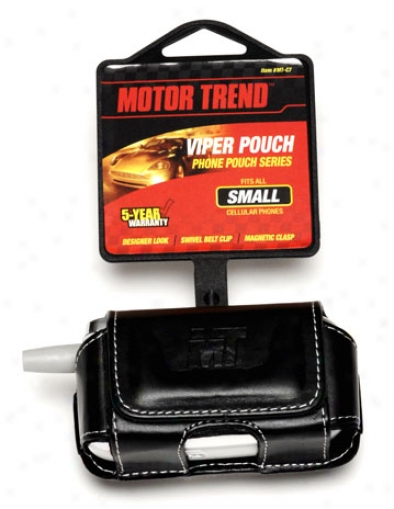 Motor Trend Viper Phone Pouch