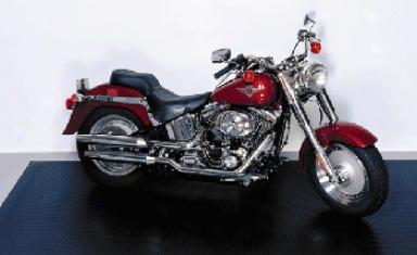 Motorcycle Garage Mat