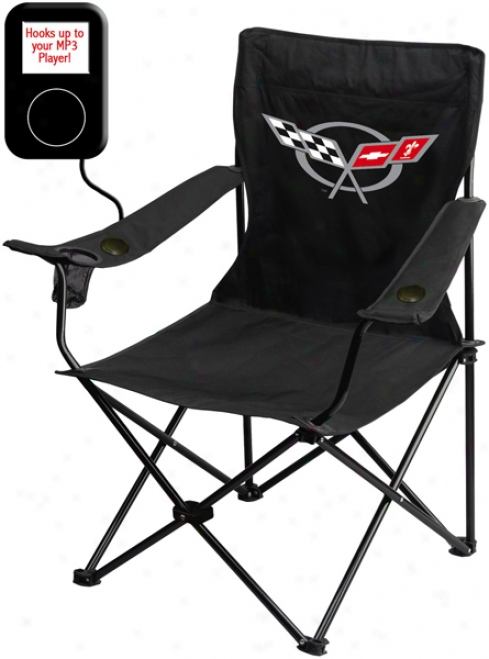 Mp3 Willing Folding Chairs With Auto Logos