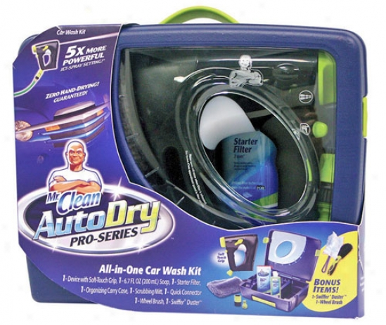 Mr. Clean Autodry Pro-series Car Wash Kit