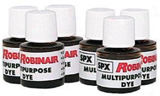 Multi-purpose Dye Oil/fuel Uv Dye - 6 Pk.