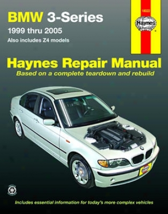 Mw 3-series And Z4 Haynes Restoration Of the hand (1999-2005)