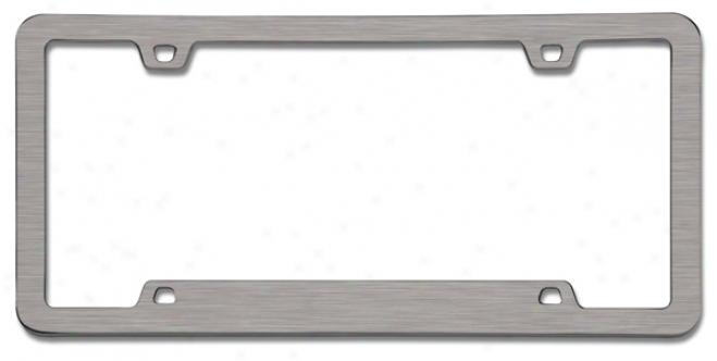 Neo? Sport Brushed Nickel Lucense Dish Frame