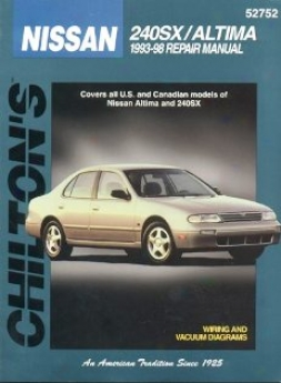 Nissan 24Osx/altima (1993-98) Chilton Manual