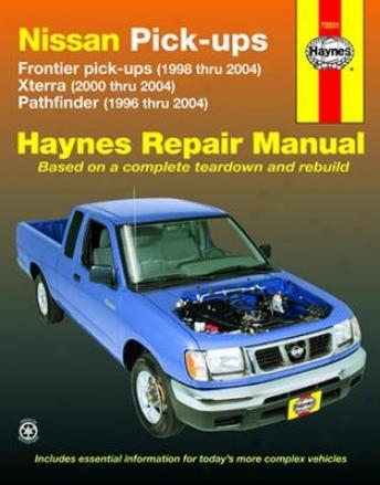Nissan Frontier, Xterra & Pathfinder Haynes Repair Manual (1996-2004)