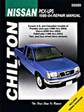 Nissan Frontier/pathfinder (1998-04) Chilton Of the hand