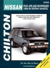 Nissan Pick-ups/pathfinder (1989-95) Chilton Of the hand