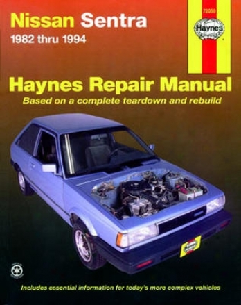 Nissan Sentra Haynes Repair Manual (1982 - 1994)