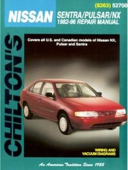 Nissan Sentra, Pulsar & Ns Chilton Manuql (1982-1996)