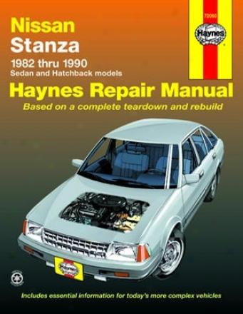 Nissan Stanzza Haynes Rpeair Manual (1982-1990)