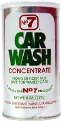 No. 7 Car Wash Concentrated Powder (8 Oz.)