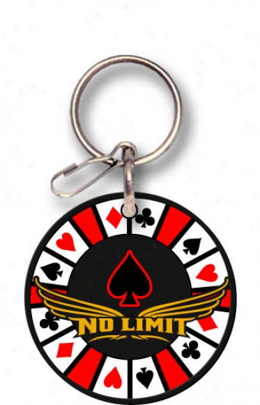 No Limit Poker Keychain