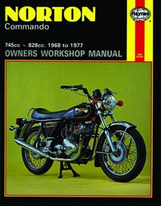 Norton Commando Haynes Repair Of the hand (9168 - 1977)