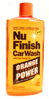 Nu Finish Car Wash Concentrate