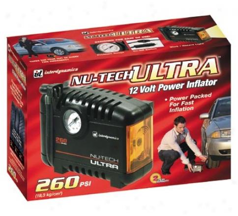 Nutech Ultra 12 Volt Power Inflator