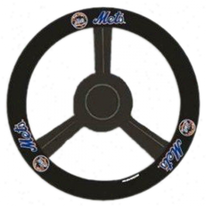 Ny Mets Steering Wheel Cover