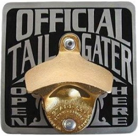 Officiwl Tailgater Hitch Cover Bottle Opener