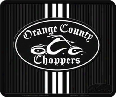 Orange County Choppers Bike Logo Utility Mat