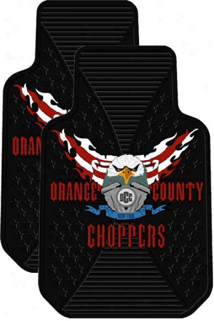 Orange County Choppers Eagle Mat (pair)