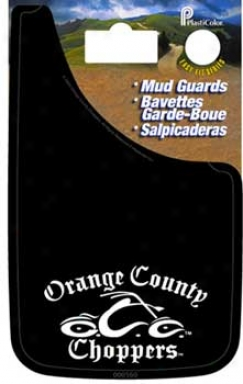 Orange County Choppers Easy-fit Mud Guards 9'' X15''