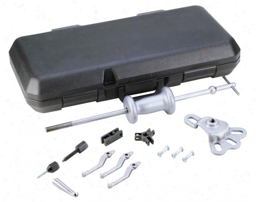 Otc Silver Slapper - 8 Way Slide Hammer Puller Set