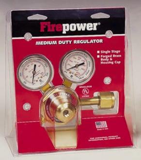 Oxygen Gas Regulator, 4-80 Psig - Series250