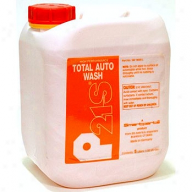 P21s High Performance Totai Auto Wash 5 Liter Canister