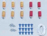 Pacer Mini Marker Tailgate Running Lights Combo Kit (10 Lights)