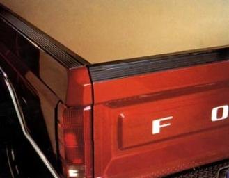Pacer Rail Convoy Vonyl Truck Bed Rail Cap Protectors