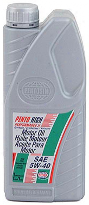 Pentosin 5w40 Synthetic High Performance Motor Oil (1 Qt)