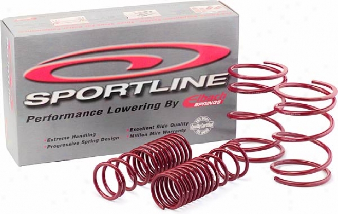 Performance Lowering Sportline Kit (1.7'' - 2.3'') By Eibach Springs