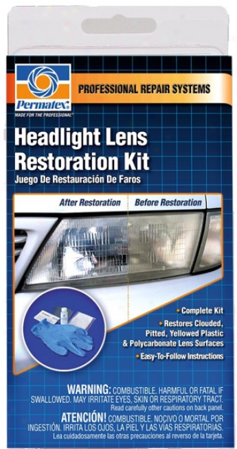 Permatex? Headlight Lens Restoration Kit