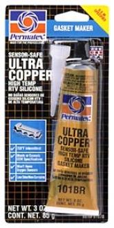 Permatex High-temp Ultra Copper Rtv Silicone Gasket Creator (3 Oz.)