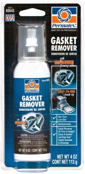Permatex Low Voc Gasket Remover (4 Oz.)