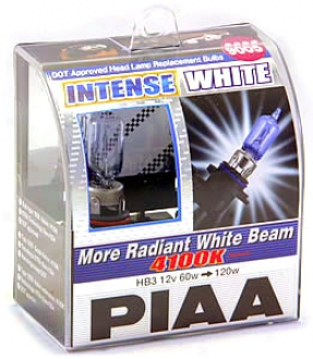 Piaa 9005 Intense White Bulbs Twin Pack