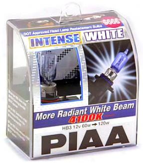 Piaa 9005 Intense White Bulbs Twin Pack