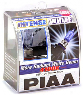 Piaa 9006 Intense White Bulbs Twin Pack