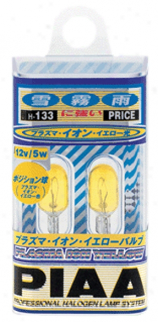Piaa Plasma Ion Yellow (hb 9005/9006) Halogen Light Bulbs