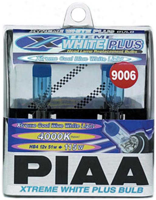 Piaa Xtreme White Plus Series 9006 Bulbs