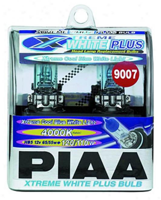 Piaa Xtreme White Plus Series 9007 Bulbs