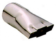 Pilot Chrome Chevy Bowtie Prostrate Tip (small)
