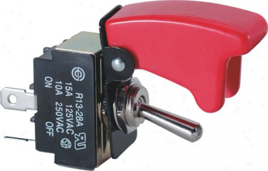 Pilot Safety Cover Toggle Switch